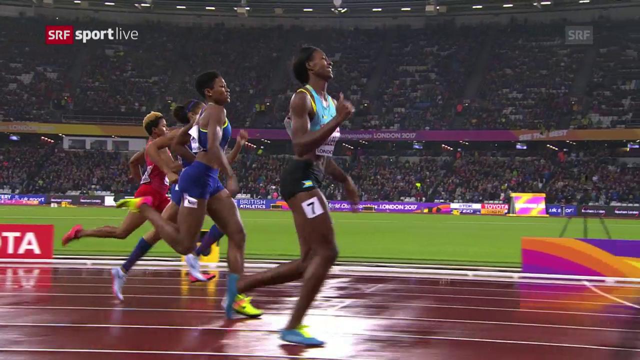 Drama beim 400-Meter-Lauf der Frauen