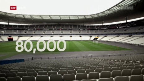 Video «Die Spielstätte Stade de France im Fokus» abspielen