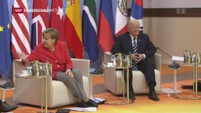 Video «G20-Gipfel in Hamburg gestartet» abspielen