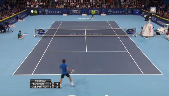 ATP Basel: Highlights Federer - Del Potro («sportlive»)