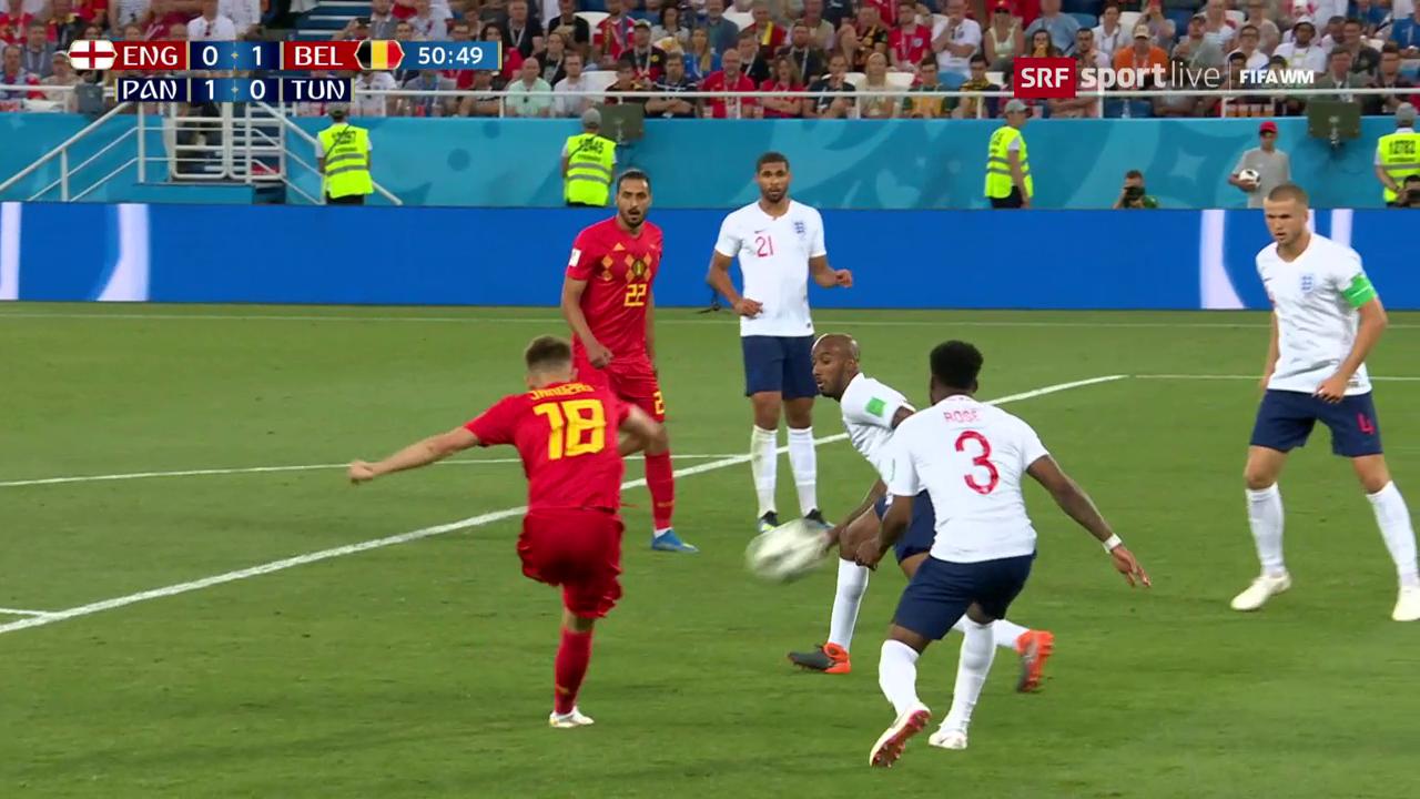 Belgien bezwingt England verdient