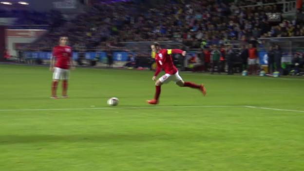 Video «Fussball: Zusammenfassung Estland - England» abspielen