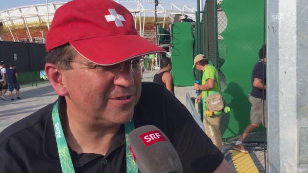 Video «Tennisfan Pascal im Gespräch» abspielen