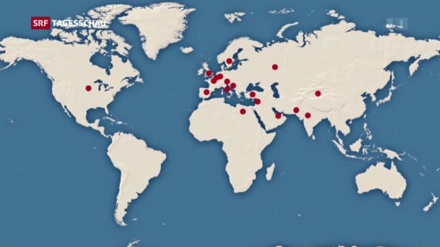 Video «Braucht das Schweizer Militär mehr Präsenz im Ausland?» abspielen