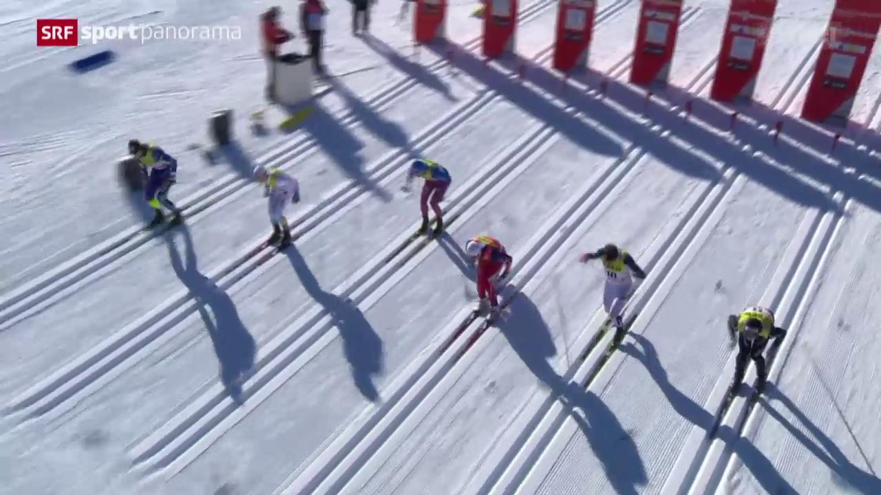 Langlauf: Der Weltcup-Sprint in Davos