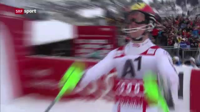 Ski: Slalom Männer in Kitzbühel