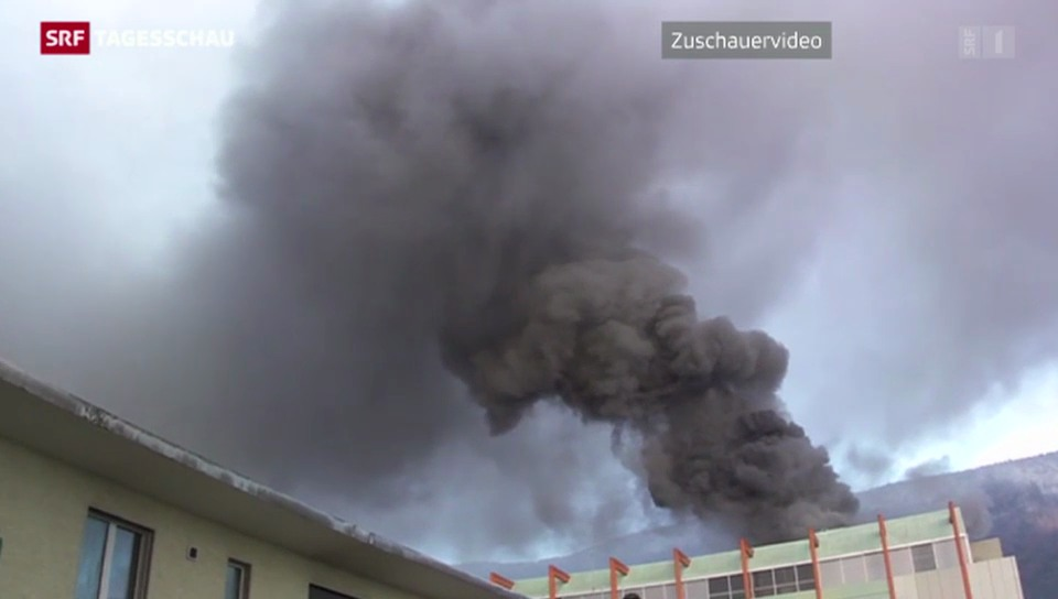 Brand in Solothurner Uhrenfabrik