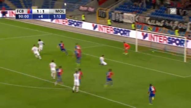 Video «Fussball: CL-Quali, Basel - Molde («sportlive»)» abspielen