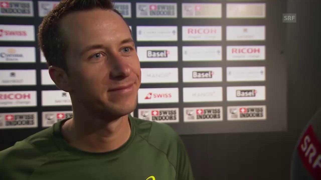 Tennis: Swiss Indoors, Philipp Kohlschreiber über die Schweiz