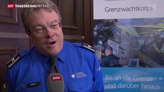 Video «Extremjahr für die Schweizer Grenzwache» abspielen