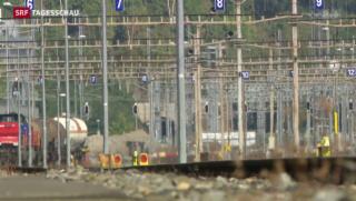 Video «Chlortransporte durch dichtbesiedeltes Gebiet» abspielen