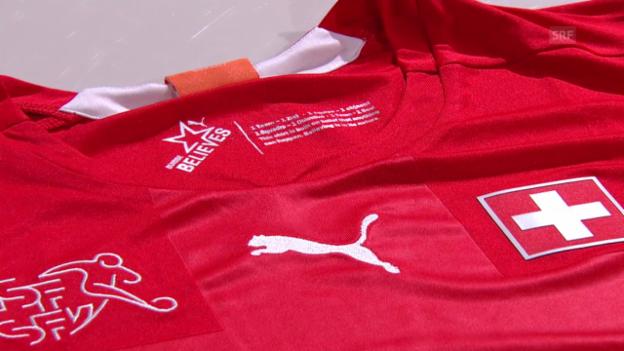 Video «Fussball: Das neue Nati-Shirt» abspielen
