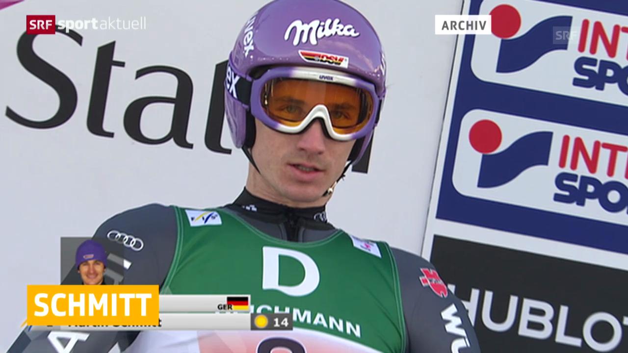 Skispringen: Martin Schmitt beendet Karriere («sportaktuell», 31.01.2014)