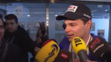 Video «Ski alpin: Interview mit Patrick Küng nach der Landung in Zürich» abspielen