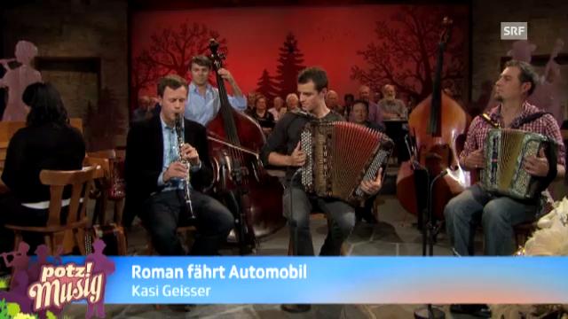 Roman fährt Automobil - Kasi Geisser