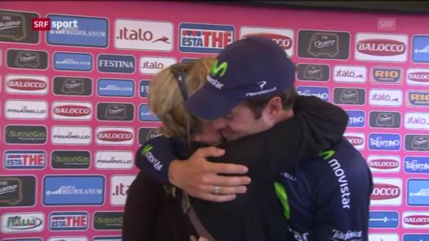 Video «Rad: Dowsett gewinnt Giro-Zeitfahren» abspielen