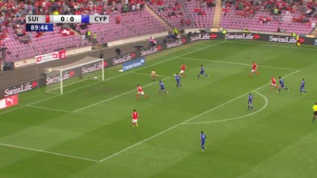 Video «Der Siegtreffer von Seferovic gegen Zypern» abspielen