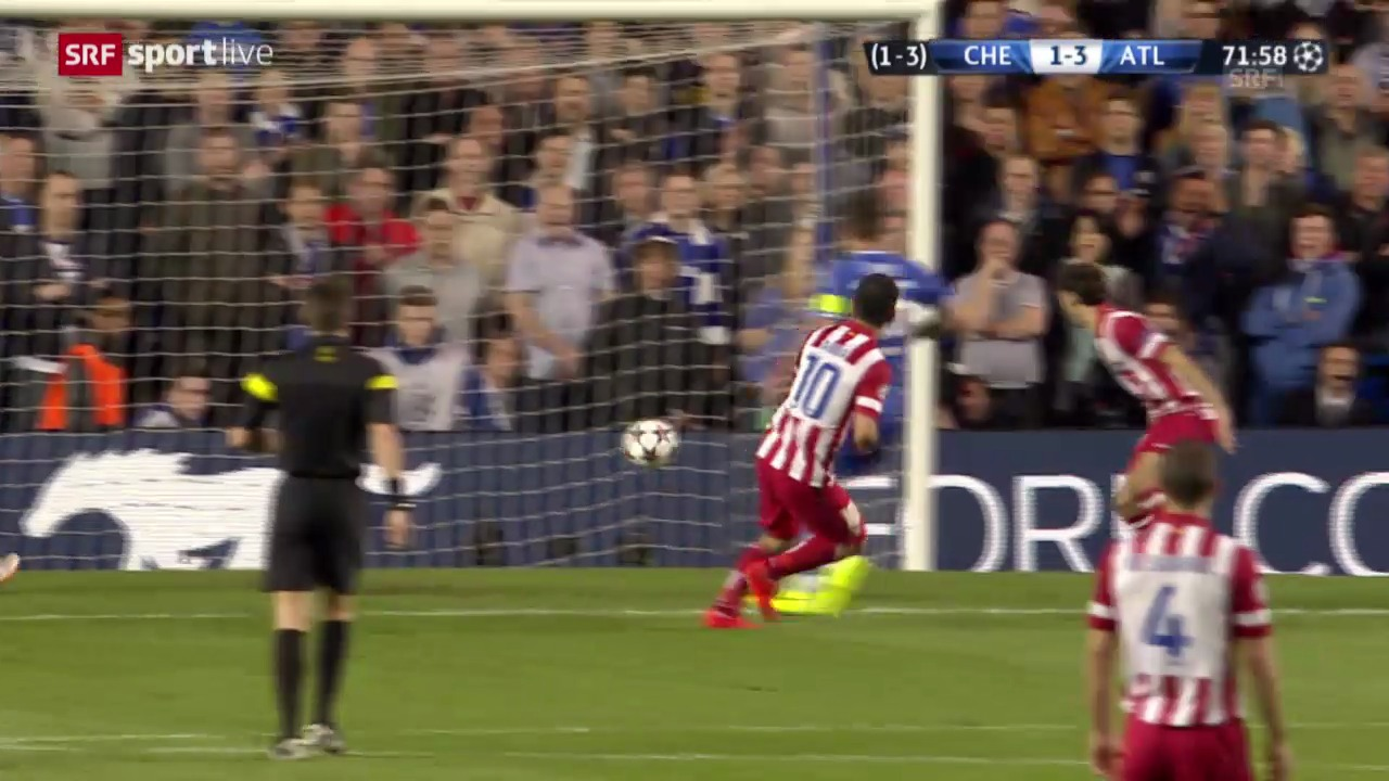 Fussball: Highlights CL-Halbfinal-Rückspiel Chelsea - Atletico
