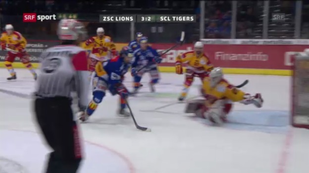 Video «ZSC Lions - SCL Tigers («sportaktuell»)» abspielen
