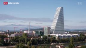 Video «Roche-Turm in Basel bezugsbereit» abspielen