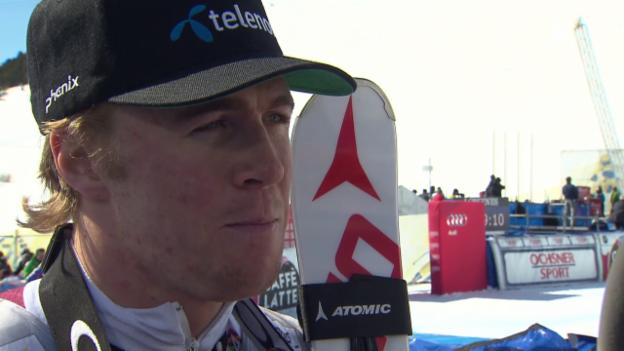 Video «Interview mit Aleksander Kilde» abspielen