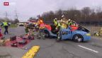 Video «150'000 Franken an Unkosten pro Verkehrsunfall in der Schweiz» abspielen