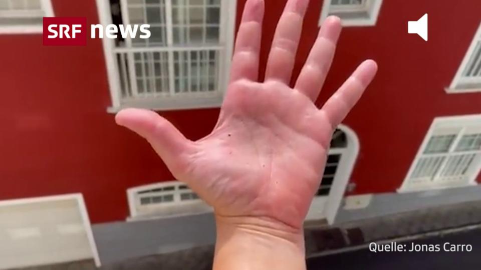 Asche statt Wassertropfen auf La Palma