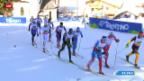Video «Ski nordisch: WM im Val di Fiemme, Langlauf-Staffel der Männer» abspielen