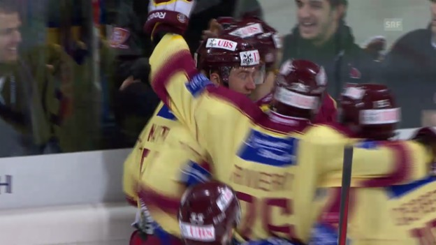 Video «Eishockey: Spengler Cup 2013, Final Genf-ZSKA Moskau» abspielen