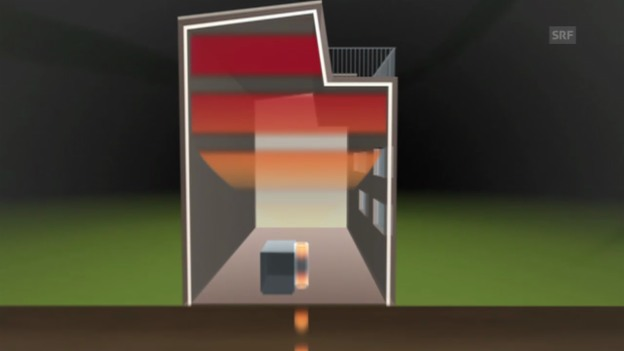 Video «Animation: Das CO2 freie Haus» abspielen