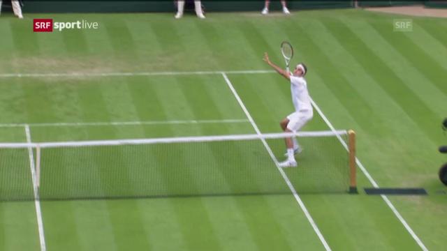 Spielbericht Federer-Stachowski