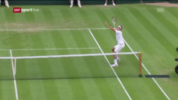 Video «Spielbericht Federer-Stachowski» abspielen