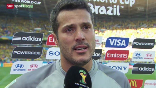 Video «FIFA WM 2014: Interview mit Julio Cesar» abspielen