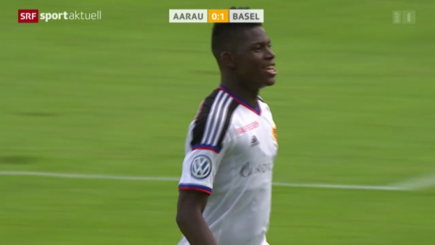 Video «Fussball: Super League, Aarau - Basel» abspielen