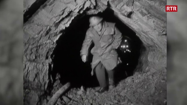 Laschar ir video «La perfuraziun dal tunnel (Antenne, 12.04.1965)»
