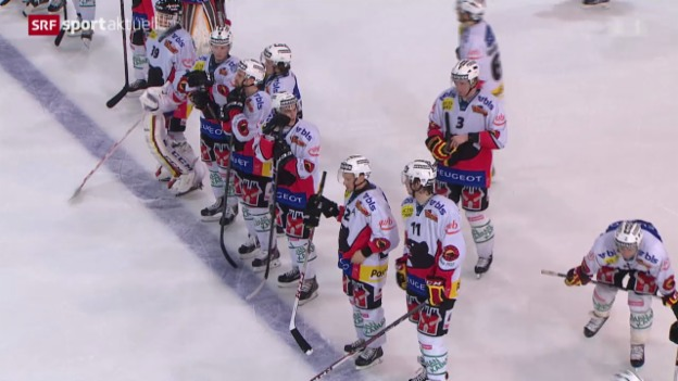 Video «Eishockey: NLA, Freiburg - Bern» abspielen
