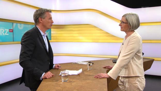 Video «Studiogespräch mit Annette Lenzlinger, Fachanwältin» abspielen