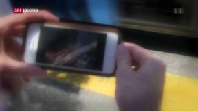 Video «Immer mehr «Smombies» bevölkern die Gehsteige » abspielen