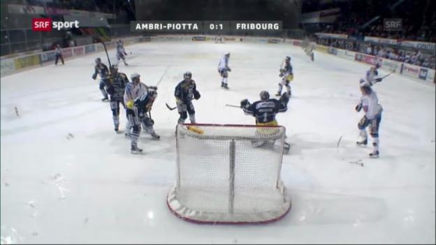 Video «Ambri-Piotta - Fribourg-Gottéron «sportaktuell»» abspielen