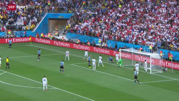 Video «Spielbericht Uruguay - England» abspielen