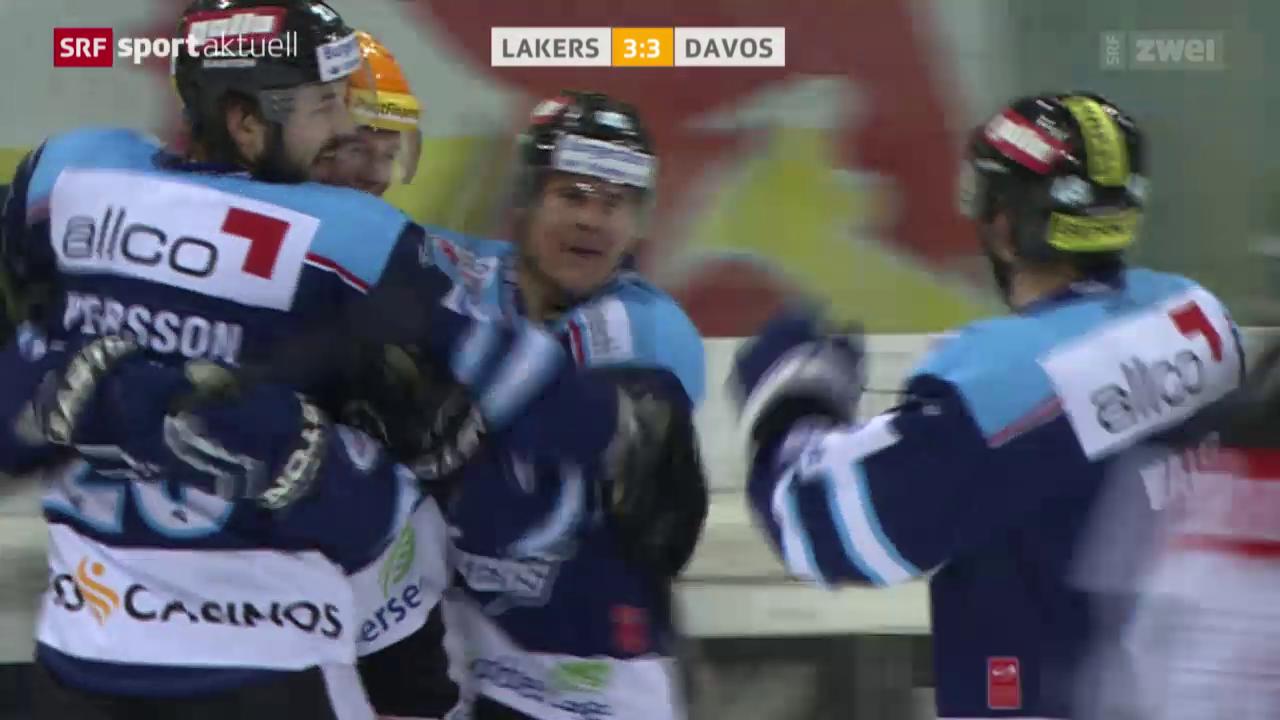 Eishockey: NLA, Rapperswil-Jona Lakers - Davos