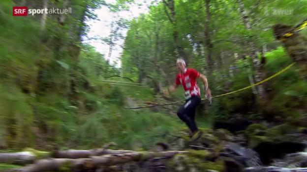 Video «OL: WM in Schottland, Rennen über die Langdistanz» abspielen