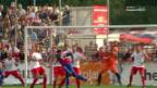 Video Viele Chancen, aber nur 3 Tore für den FCB abspielen.