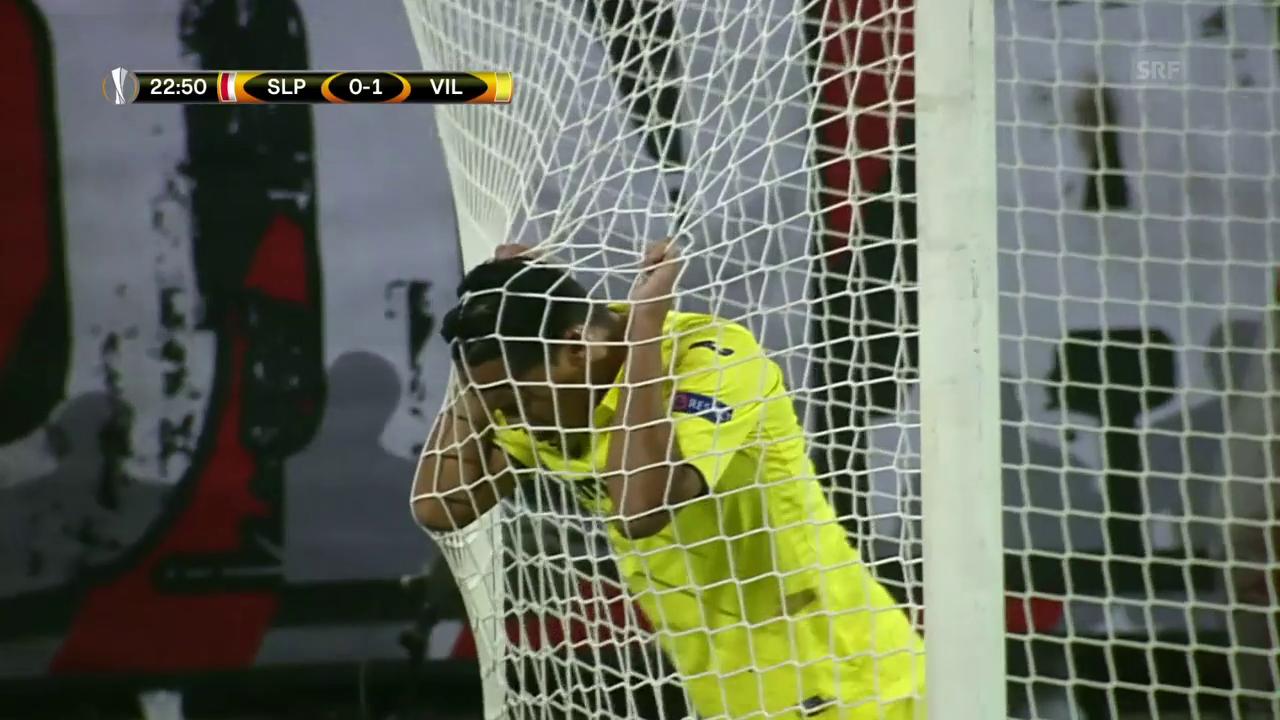 Villarreal lässt 2 Topchancen aus