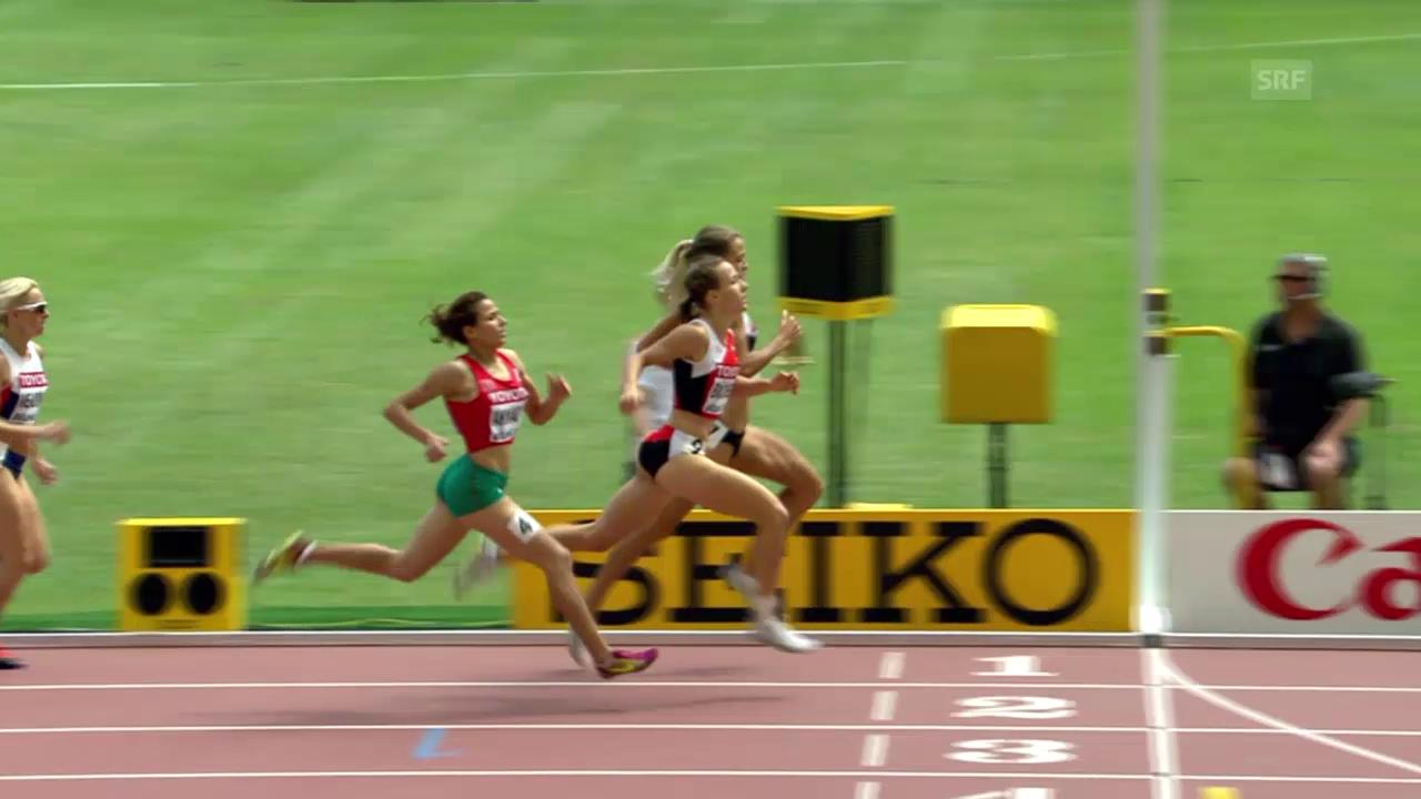 LA: WM in Peking, 800 m Frauen, Vorlauf Selina Büchel