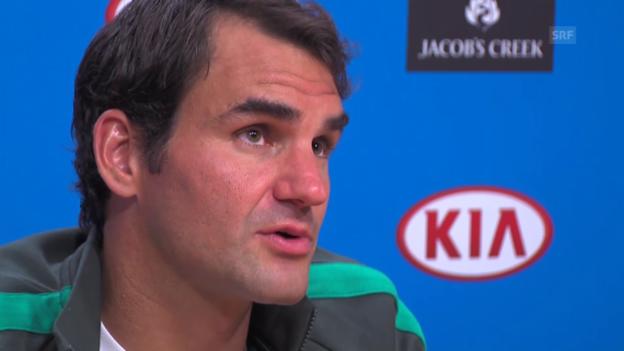 Video «Roger Federer über den neuen Coach Ivan Ljubicic» abspielen