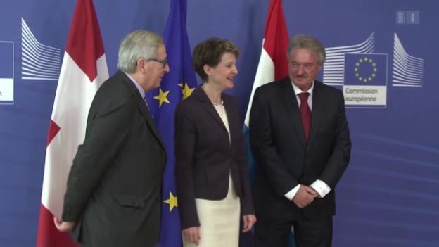 Video «EU will bei Schutzklausel mitreden» abspielen
