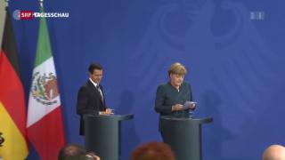 Video «Merkel zur Strafanzeige gegen Böhmermann» abspielen