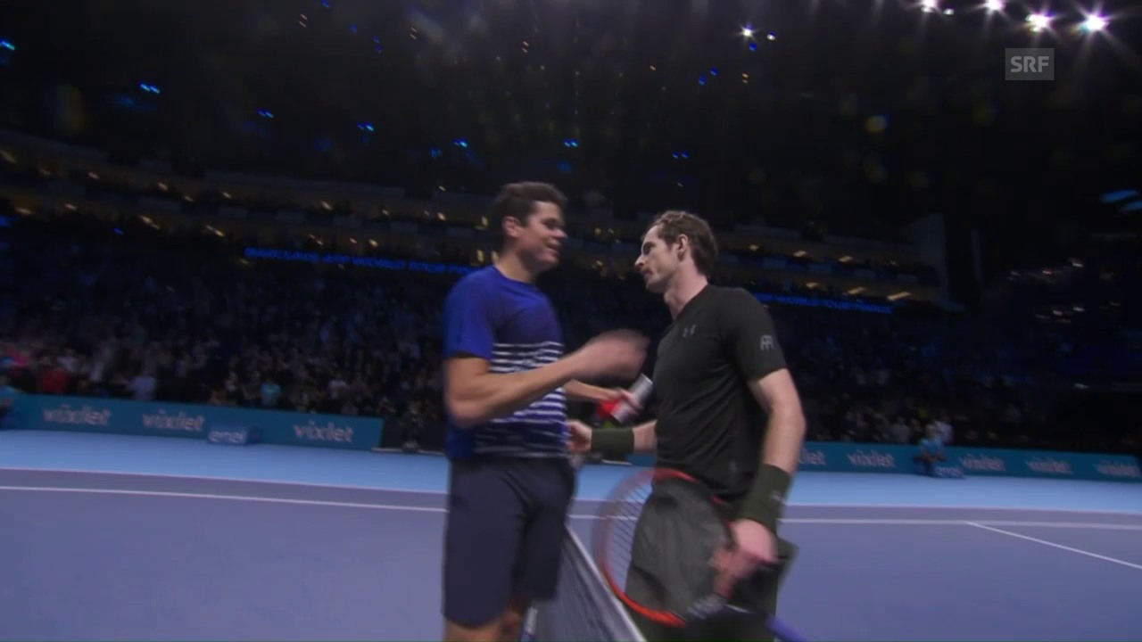 Live-Highlights Murray - Raonic