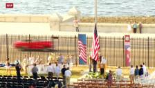 Video «Offizielle Wiedereröffnung der US-Botschaft» abspielen